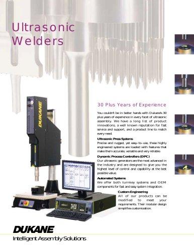 Ultrasonic Welders Brochure