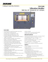 VW5500 - Vibration Welder