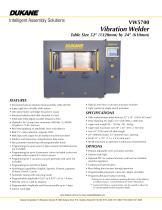VW5700 - Vibration Welder
