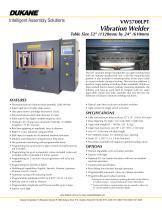 VW5700LPT - Vibration Welder