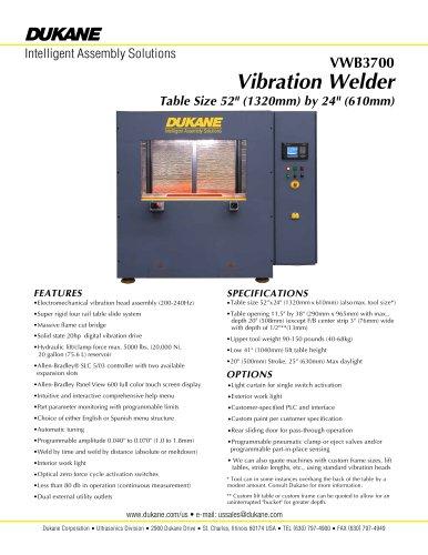 VWB3700 - Vibration Welder