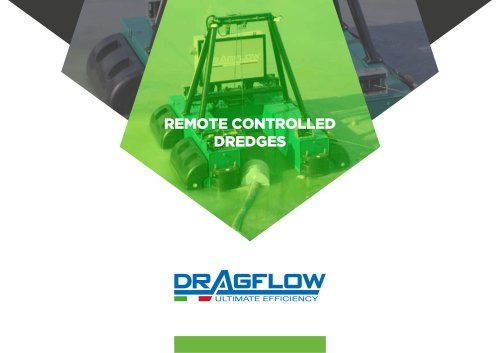DRP - Remote Controlled Dredges - DRAGFLOW