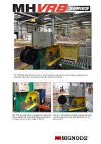 MH-VRB Side-Seal Pallet Strapping Machine