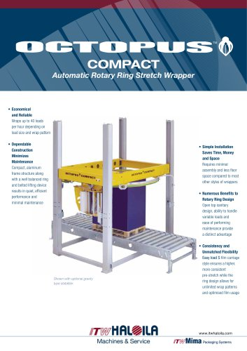 Octupus Compact Automatic Rotary Ring Stretch Wrapper
