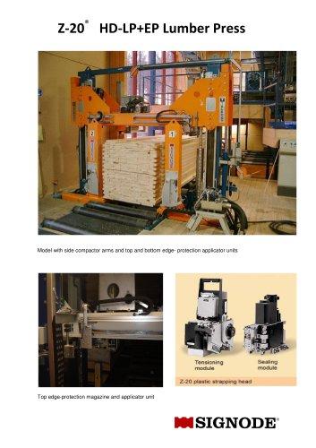 Z-20 HD-LP+EP Lumber Press