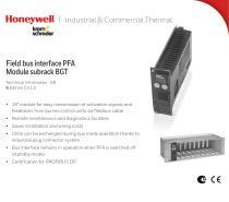 Field bus interface PFA 700