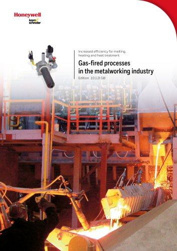 Gas-fired processes in the metalworking industry