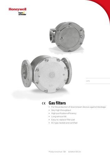 Gasfilter GFK
