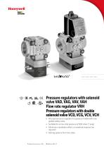 Pressure regulators with solenoid valve VAD, VAG, VAV - 1
