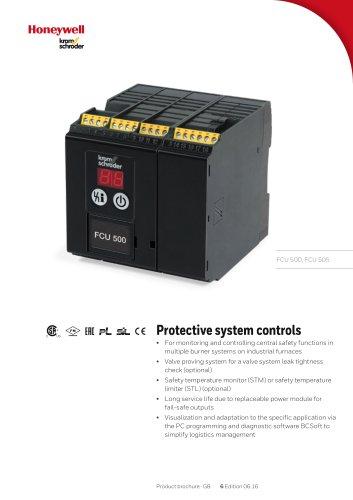 Protective system control FCU