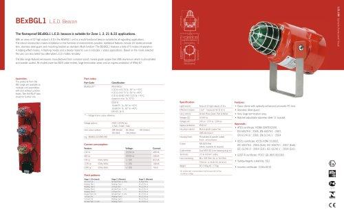 BExBGL1 LED Beacon