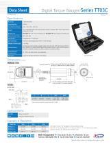 Digital Torque Gauges Series TT03C - 2