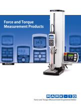 Force and Torque Measurement Products - 1