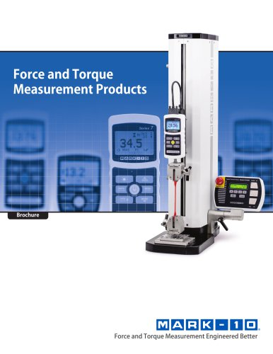 Force and Torque Measurement Products