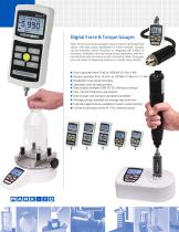 Force and Torque Measurement Products - 4