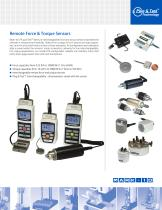 Force and Torque Measurement Products - 5