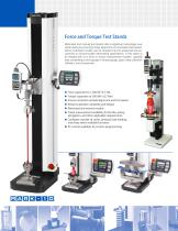 Force and Torque Measurement Products - 6