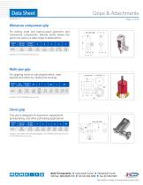 Grips & Attachments 90°peel fixture - 2