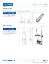 Grips & Attachments 90°peel fixture - 7