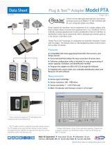 Plug & TestTM Adapter Model PTA - 1