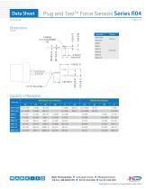 Plug and TestTM Force Sensors Series R04 - 2