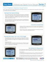 Professional Digital Force Gauges Series 7 - 2