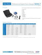 Professional Digital Force Gauges Series 7 - 4