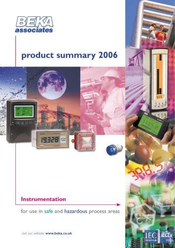 Product Summary 2006