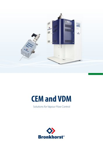 CEM-System Liquid Delivery System with Vapour Control