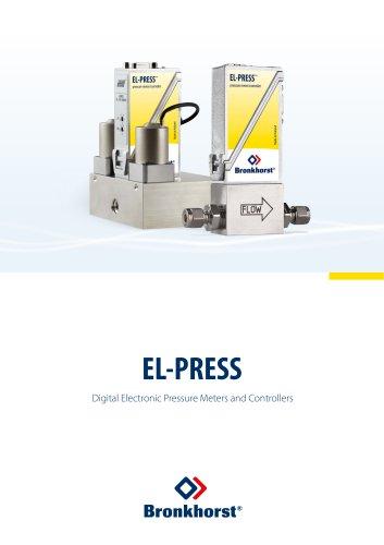 EL-PRESS Digital Electronic Pressure Meters / Controllers