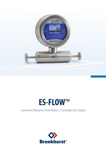 ES-FLOW Ultrasonic Flow Meter for Liquids