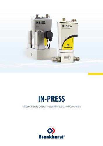 IN-PRESS Industrial style Digital Pressure Meters / Controllers