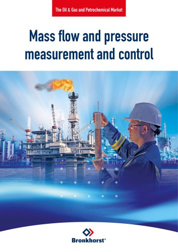 Mass flow and pressure measurement and control