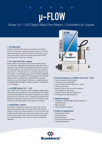 µ-FLOW series L01