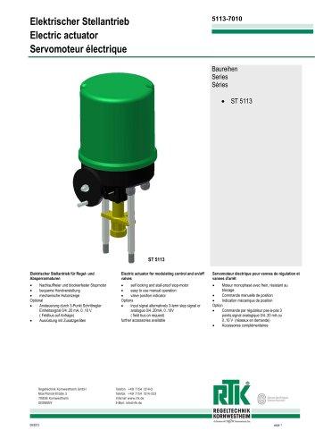 Electric actuator 6 kN ST 5113
