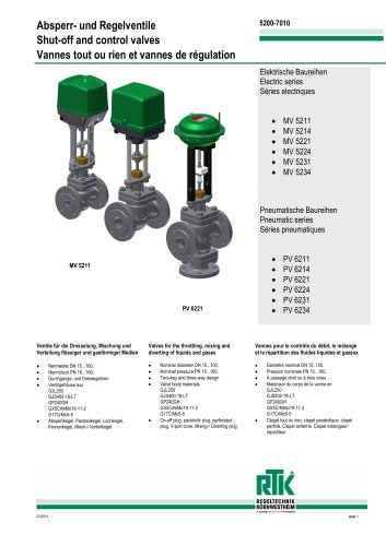 MV 5200/ PV 6200