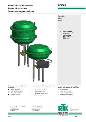 Pneumatic actuator ST 6175