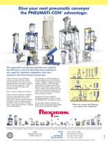 PNEUMATI-CON Dilute Phase Pneumatic Conveying Systems