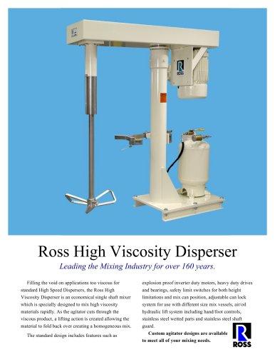 High Viscosity Disperser