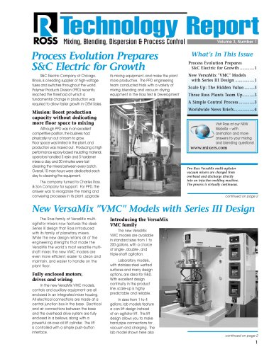 Process Evolution Prepares S&C Electric for Growth
