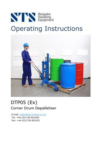 Corner Drum Lifting Trolley- Operation Manual