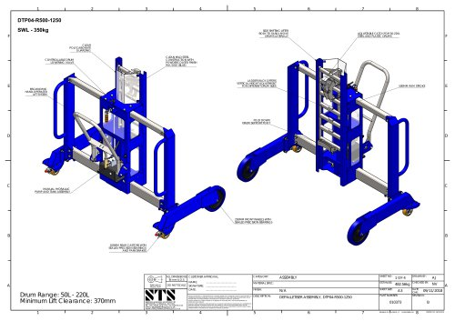 Drum / Barrel Mover (Side-Shift) -- Technical Specification