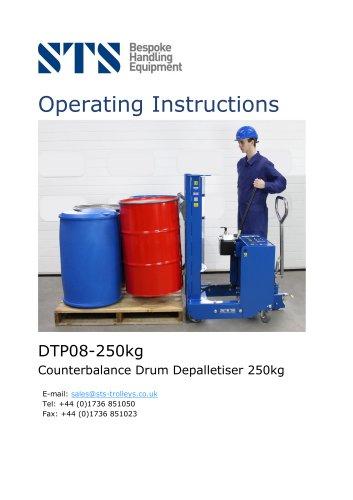 Drum Lifter (Counterbalance)-Operating Manual