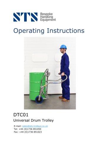 Drum Trolley - Universal - Operation Manual