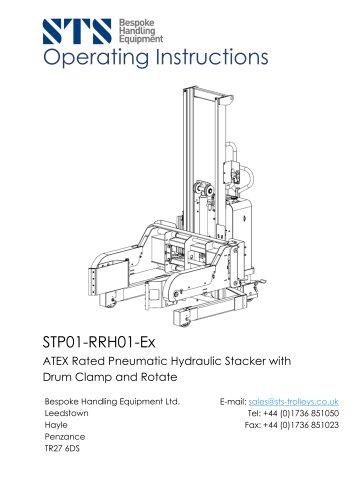 Power Clamp Drum Tipper (Pneumatic) - Operation Manual
