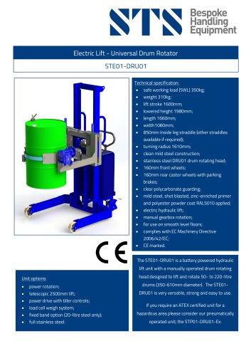 Universal Drum Rotator
