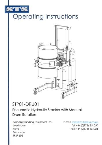 Universal Drum Rotator (Pneumatic)-Operation Manual