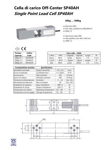 Alluminium load cell SP40AH plate 40x40