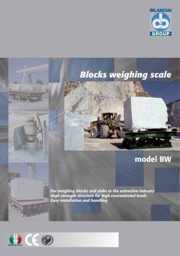 Blocks Weighing until 40.000 kg