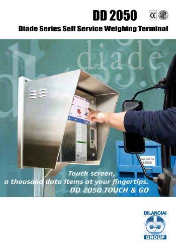 DD 2050 Diade Series Self Service Weighing Terminal